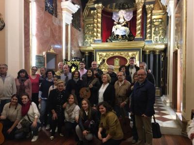 Mayo a La Virgen de las Angustias 30/04/2017